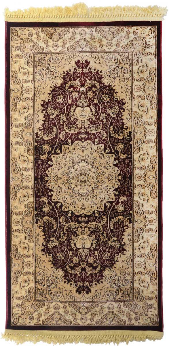 Ковер Mutas Carpet Силк, 80 х 150 см. 203420130212180240531-105Ковер Mutas Carpet, изготовленный из высококачественного материала, прекрасно подойдет для любого интерьера. За счет прочного ворса ковер легко чистить. При надлежащем уходе синтетический ковер прослужит долго, не утратив ни яркости узора, ни блеска ворса, ни упругости. Самый простой способ избавить изделие от грязи - пропылесосить его с обеих сторон (лицевой и изнаночной). Влажная уборка с применением шампуней и моющих средств не противопоказана. Хранить рекомендуется в свернутом рулоном виде.