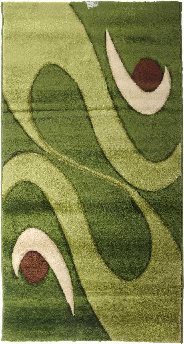 Ковер Mutas Carpet Карма, 80 х 150 см. 1004AY2012090509581856206-4Ковер Mutas Carpet, изготовленный из высококачественного материала, прекрасно подойдет для любого интерьера. За счет прочного ворса ковер легко чистить. При надлежащем уходе синтетический ковер прослужит долго, не утратив ни яркости узора, ни блеска ворса, ни упругости. Самый простой способ избавить изделие от грязи - пропылесосить его с обеих сторон (лицевой и изнаночной). Влажная уборка с применением шампуней и моющих средств не противопоказана. Хранить рекомендуется в свернутом рулоном виде.