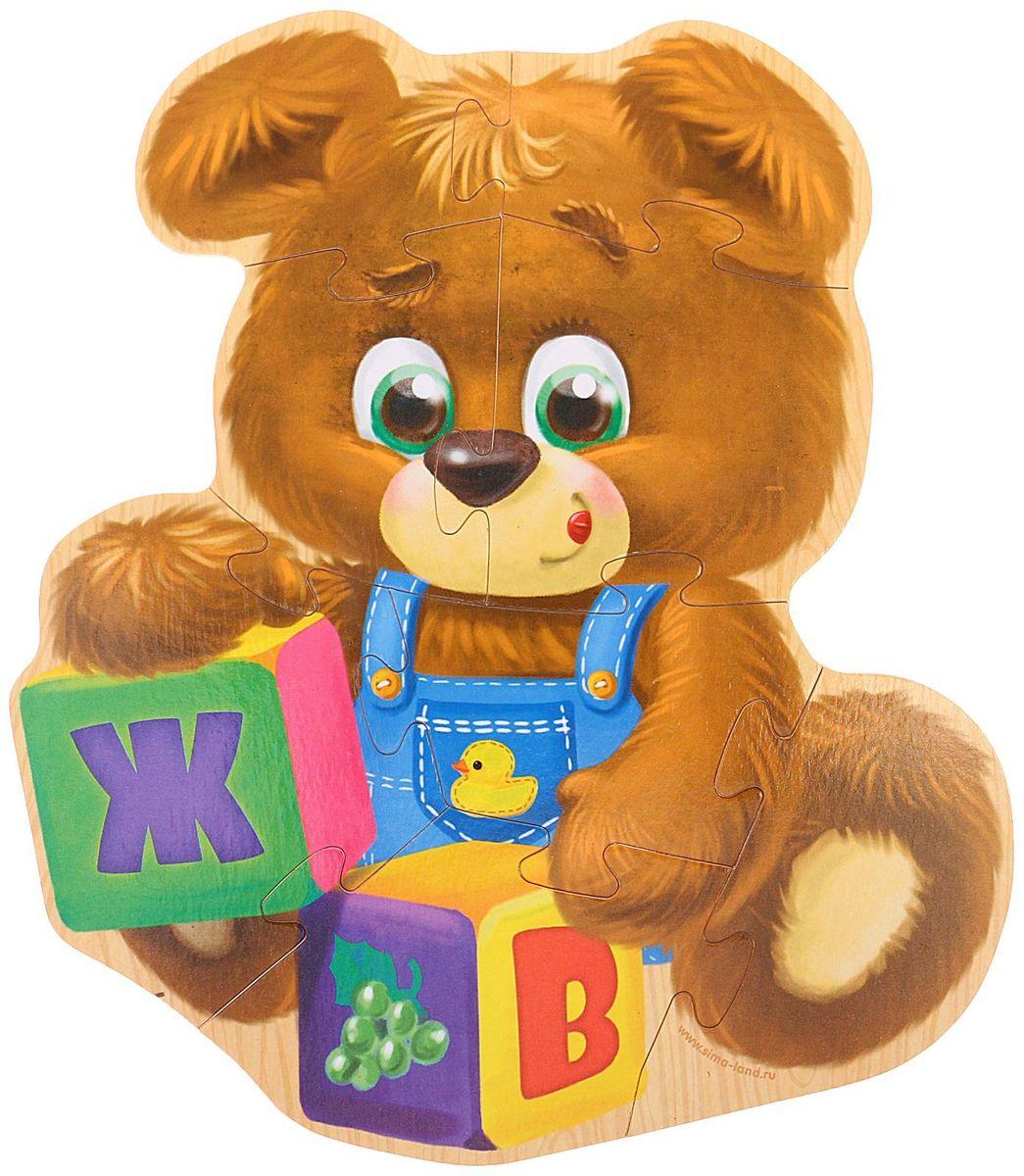 Лесная мастерская Пазл для малышей Мишутка литвинчик к развивающие игрушки для малышей мамочкина мастерская