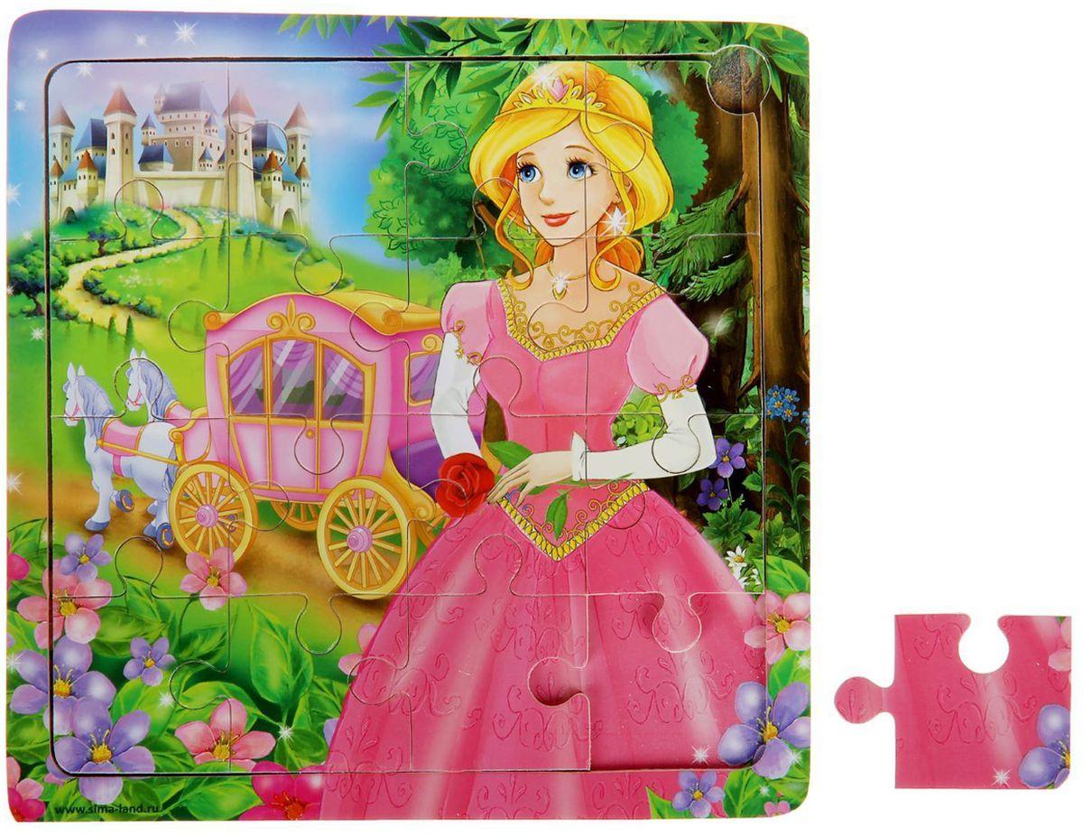 Лесная мастерская Пазл для малышей Принцесса литвинчик к развивающие игрушки для малышей мамочкина мастерская