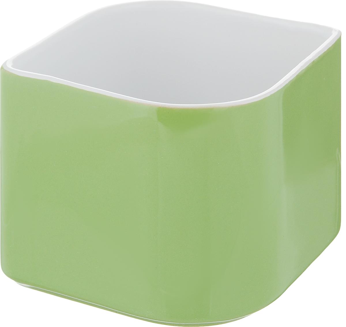 Горшок цветочный Tescoma Sense, цвет: зеленый, 11 х 13 х 9 см10503Цветочный горшок Tescoma Sense изготовлен из первоклассной керамики. Горшок подходит для выращивания цветов, растений и трав. Цветочный горшок можно мыть в посудомоечной машине.Размер горшка (по верхнему краю): 11 х 13,5 см.Высота горшка: 9 см.
