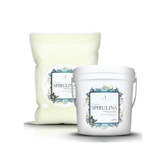 Anskin Маска альгинатная увлажняющая (пакет) Spirulina Modeling Mask Refill, 1 кгFS-00897Маска со смягчающим и охлаждающим эффектом сужает поры, снимает покраснения, успокаивает и снимает усталость, поднимает упругость и эластичность кожи, улучшает циркуляцию крови.Хорошо подходит для раздраженной и покрасневшей кожи, и для кожи после процедуры пилинга.Также маска увлажняет и питает кожу, обладает антиокислительным свойством и укрепляет кожу, препятствует аллергической реакции.