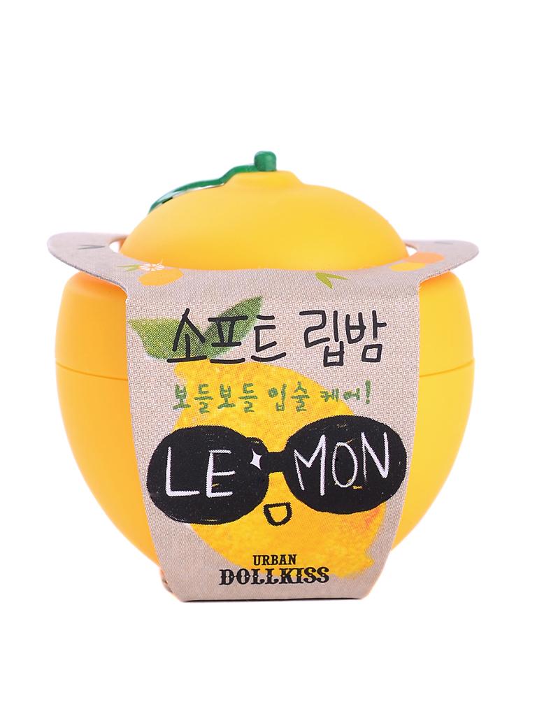 Urban Dollkiss Бальзам для губ лимон Lemon Soft Lip Balm, 6 грSC-FM20101Увлажняющий, смягчающий и питающий кожу бальзам для губ Lemon Soft Lip Balm. Бальзам содержит масло ши, эффективно питающее, увлажняющее губы и придающее им мягкость, витамины А, С и Е, смягчающие и восстанавливающие сухую, потрескавшуюся кожу губ и способствующие скорейшему заживлению.