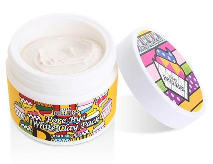 Urban Dollkiss Маска очищающая с белой глиной Pore Bye White Clay Pack, 100 млFS-00610Очищающая маска с белой глиной. Благодаря безвредности и большому проценту алюминия каолин является ценнейшим средством для оздоровления кожи – эффективно поглощает токсины, очищает кожу и насыщает ее минералами, активизирует процесс восстановления клеток и межклеточного обмена, замедляет распространение микробов. Стимулирует защиту организма, оказывая особый эффект на эпидермис, подвергающийся воздействию окружающей среды. Ваша кожа становится свежей, сияющей и красивой.
