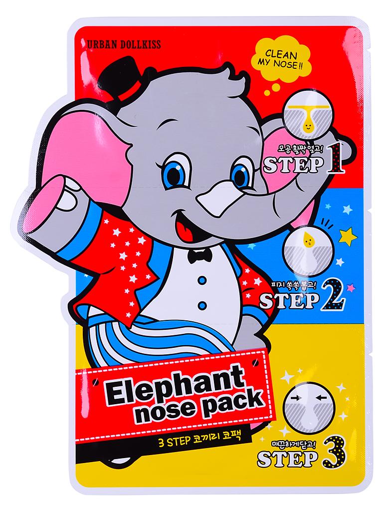 Urban Dollkiss Маска против черных точек 3-Step Elephant Nose Pack, 3 млFS-36054Маска для борьбы с черными точками и расширенными порами в области носа.Трехступенчатая система позволяет глубоко и эффективно очистить поры и предотвратить их загрязнение в дальнейшем.