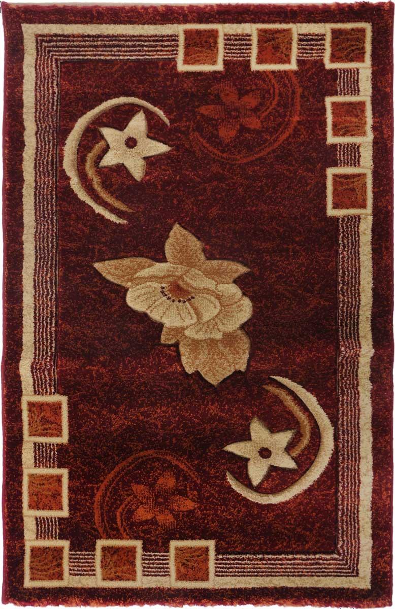 Ковер Mutas Carpet Карвинг, 80 х 125 см. 700031531-105Ковер Mutas Carpet, изготовленный из высококачественного материала, прекрасно подойдет для любого интерьера. За счет прочного ворса ковер легко чистить. При надлежащем уходе синтетический ковер прослужит долго, не утратив ни яркости узора, ни блеска ворса, ни упругости. Самый простой способ избавить изделие от грязи - пропылесосить его с обеих сторон (лицевой и изнаночной). Влажная уборка с применением шампуней и моющих средств не противопоказана. Хранить рекомендуется в свернутом рулоном виде.
