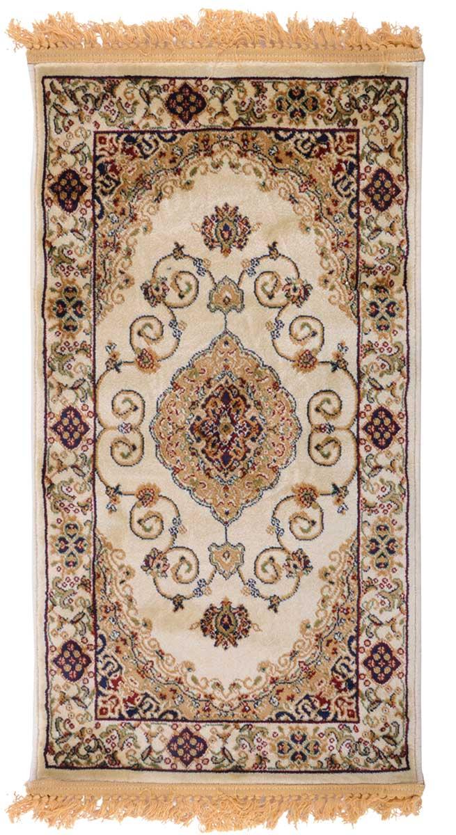 Ковер ART Carpets Арт Сапфир, 60 х 110 см. 203420130212183560U210DFКовер ART Carpets, изготовленный из высококачественного материала, прекрасно подойдет для любого интерьера. За счет прочного ворса ковер легко чистить. При надлежащем уходе синтетический ковер прослужит долго, не утратив ни яркости узора, ни блеска ворса, ни упругости. Самый простой способ избавить изделие от грязи - пропылесосить его с обеих сторон (лицевой и изнаночной). Влажная уборка с применением шампуней и моющих средств не противопоказана. Хранить рекомендуется в свернутом рулоном виде.