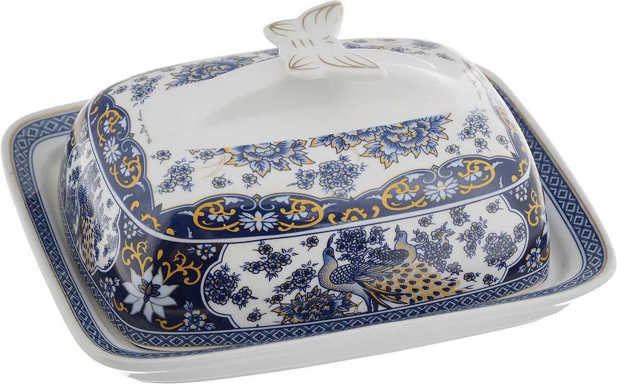 Масленка Elan Gallery Бабочка. Павлин синийVT-1520(SR)Великолепная масленка Elan Gallery Бабочка. Павлин синий, выполненная из высококачественной керамики, предназначена для красивой сервировки и хранения масла. Она состоит из подноса и крышки. Масло в ней долго остается свежим, а при хранении в холодильнике не впитывает посторонние запахи.Масленка Elan Gallery Бабочка. Павлин синий идеально подойдет для сервировки стола и станет отличным подарком к любому празднику.Размер подноса: 17 х 13 х 2 см.Размер крышки: 14,5 х 10,5 х 7 см.Общий размер масленки: 17 х 13 х 8 см.