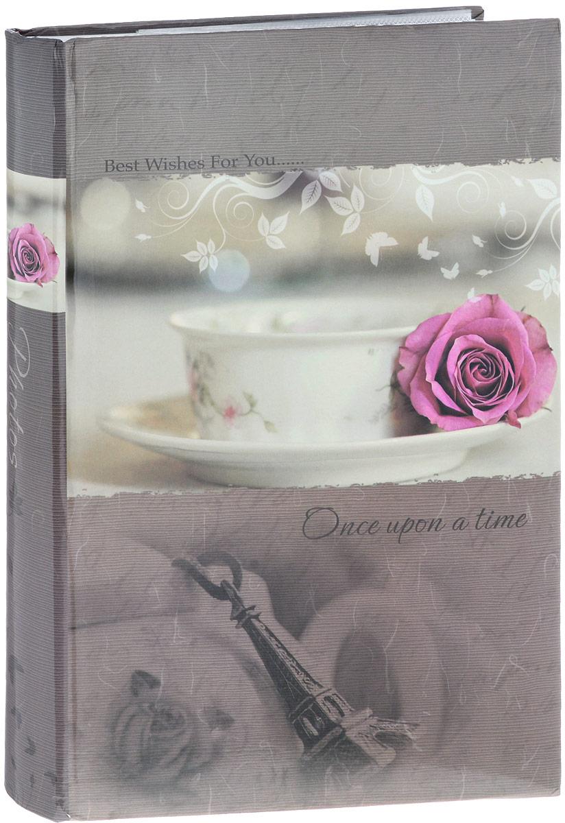 Фотоальбом Platinum Классика, 300 фотографий, 10 х 15 см, цвет: молочный, розовый, серо-бежевый. С-46300RCL32215_роза на кружке/С-46300RCLФотоальбом Platinum Классика поможет красиво оформить ваши фотографии. Обложка выполнена из толстого картона и декорирована оригинальным рисунком. Внутри содержится блок из 50 листов с фиксаторами-окошками из полипропилена. Альбом рассчитан на 300 фотографий формата 10 х 15 см (по 3 фотографии на странице). Листы имеют поля для подписи. Переплет - книжный. Нам всегда так приятно вспоминать о самых счастливых моментах жизни, запечатленных на фотографиях. Поэтому фотоальбом является универсальным подарком к любому празднику.Количество листов: 50.