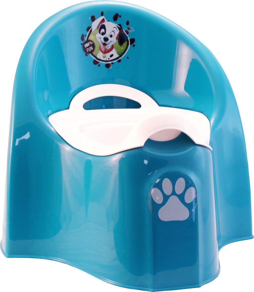 Disney Горшок детский большой цвет бирюзовый -  Горшки и адаптеры для унитаза