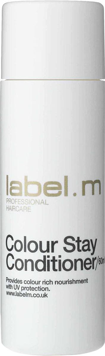 Label.m Кондиционер защита цвета 60 мл72523WDКондиционер надолго сохраняет цвет окрашенных волос. Содержит жожоба, гидролизованный шелк, алоэ барбадосское и экстракт подсолнечника для интенсивного увлажнения. Комплекс Enviroshield защищает цвет, а также предотвращает повреждение во время укладки и защищает от УФ лучей.