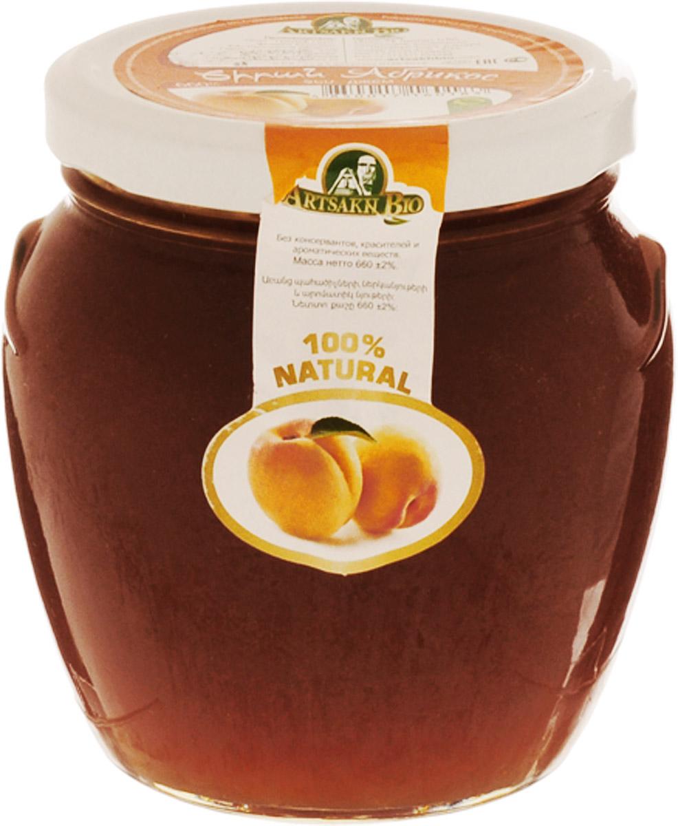 Artsakh Bio джем из абрикосов, 660 г0120710Абрикос, входящий в состав джема Artsakh Bio очень полезен для организма, так как содержит большое количество витаминов, таких как А, В, С, Е, Р, РР , а также микро- и макроэлементов, среди которых фосфор, калий, магний, натрий, железо и йод.Абрикосы способствуют пищеварению, выводят из кишечника шлаки, улучшают работу сердечно-сосудистой системы, укрепляют иммунитет, помогают больным астмой, аритмией, ишемической болезни сердца.