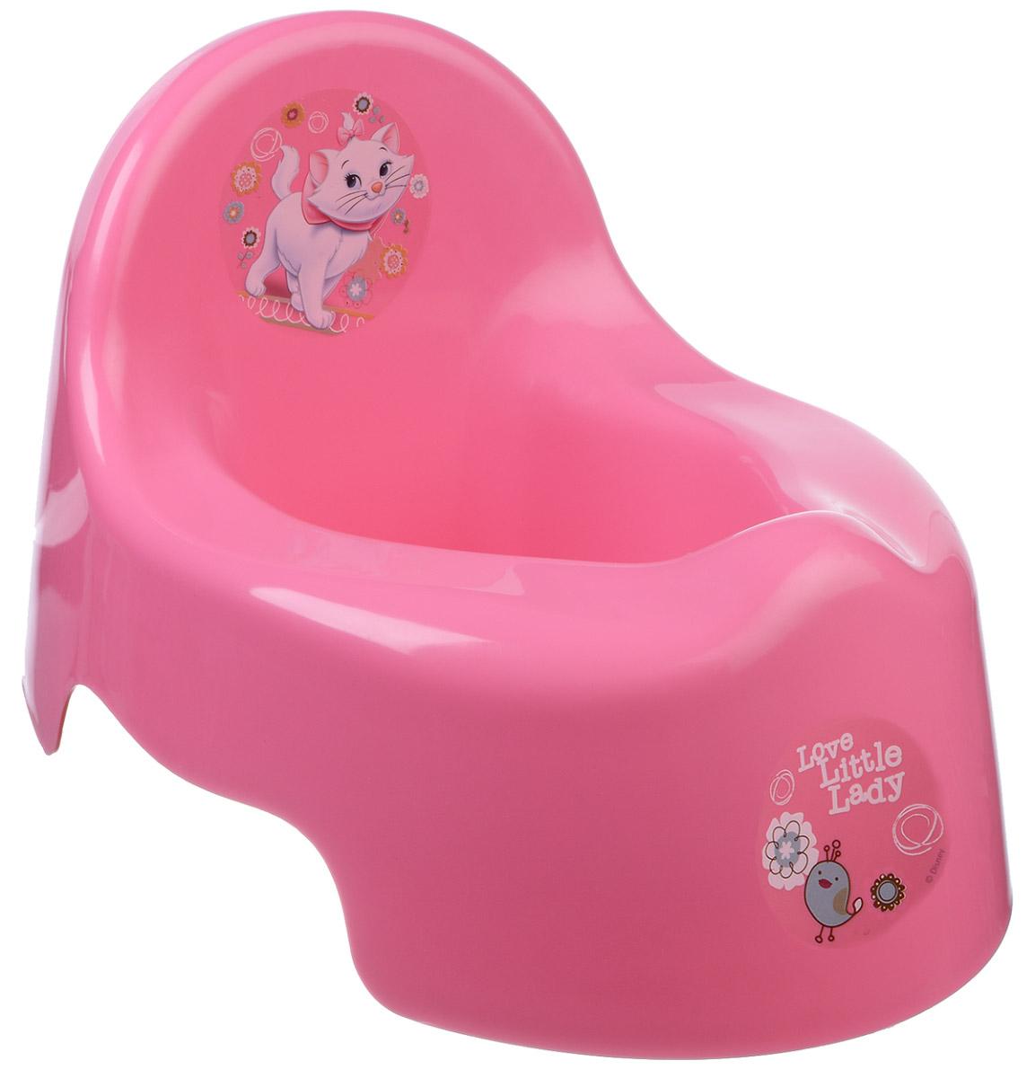 Disney Горшок детский цвет розовый