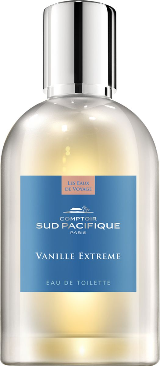 Comptoir Sud Pacifique Туалетная вода Ванильное облако 100 млFM 5567 weis-grauЧувственный мускус сплетается с изысканной ванилью, образуя ауру гармонии и совершенства. Ноты:Ваниль, Мускус.