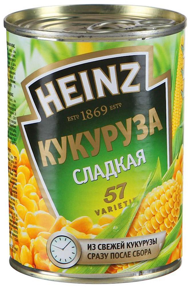 Heinz кукуруза, 340 г0120710Необыкновенно сладкая и хрустящая кукуруза Хайнц напоена солнцем и попадает в банки сразу после летнего сбора урожая. Состоит из 100% натуральных ингредиентов, не содержит ГМО и отвечает высочайшим стандартам качества и вкуса.
