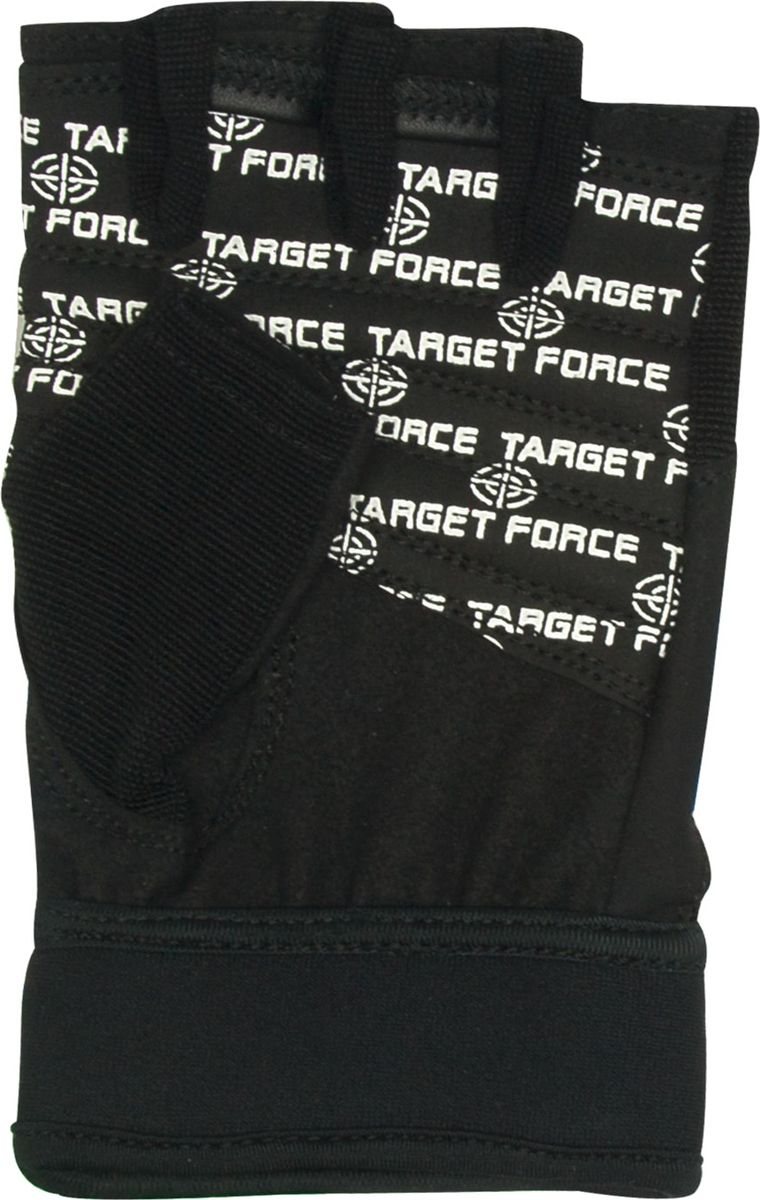 Перчатки для фитнеса Starfit  SU-118 , цвет: черный. Размер L - Одежда, экипировка
