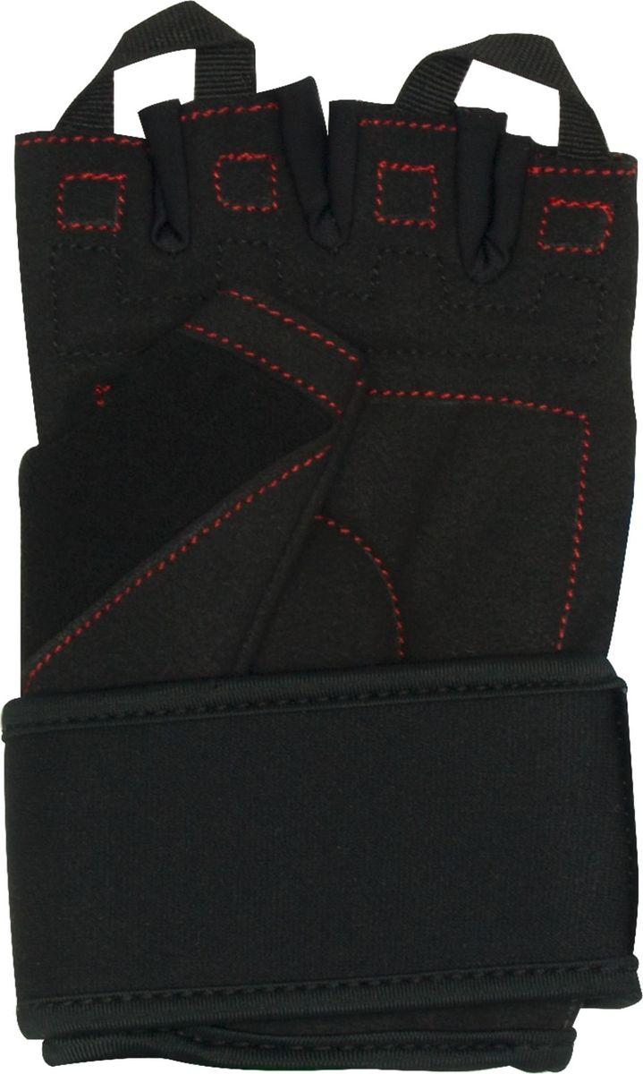 Перчатки для фитнеса Starfit  SU-120 , цвет: черный. Размер L - Одежда, экипировка