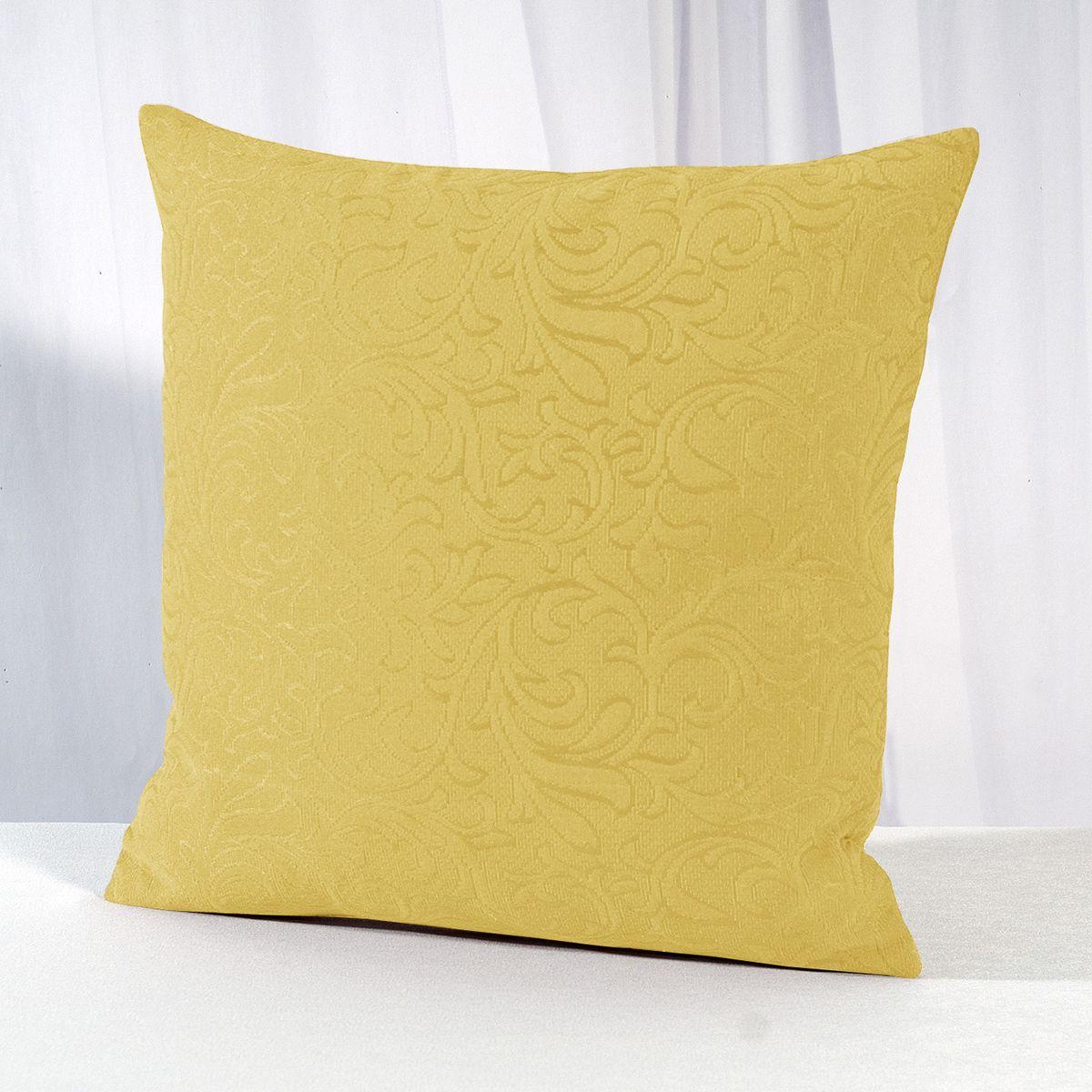 Наволочка декоративная Schaefer, 40 x 40 см, цвет: желтый. 07349-501UP210DFДекоративная наволочка Schaefer предназначена для функционального и декоративного оформления небольших подушек.Продукция производится из качественной ткани, которая легко отстирывается от несложных загрязнений и быстро высыхает после стирки. Ее цвет и рисунки станут украшением любого интерьера. Наволочка прошита с помощью надежных швов, которые долгое время выдерживают повседневные нагрузки. Качественная разноцветная покраска гарантирует устойчивость к выцветанию.