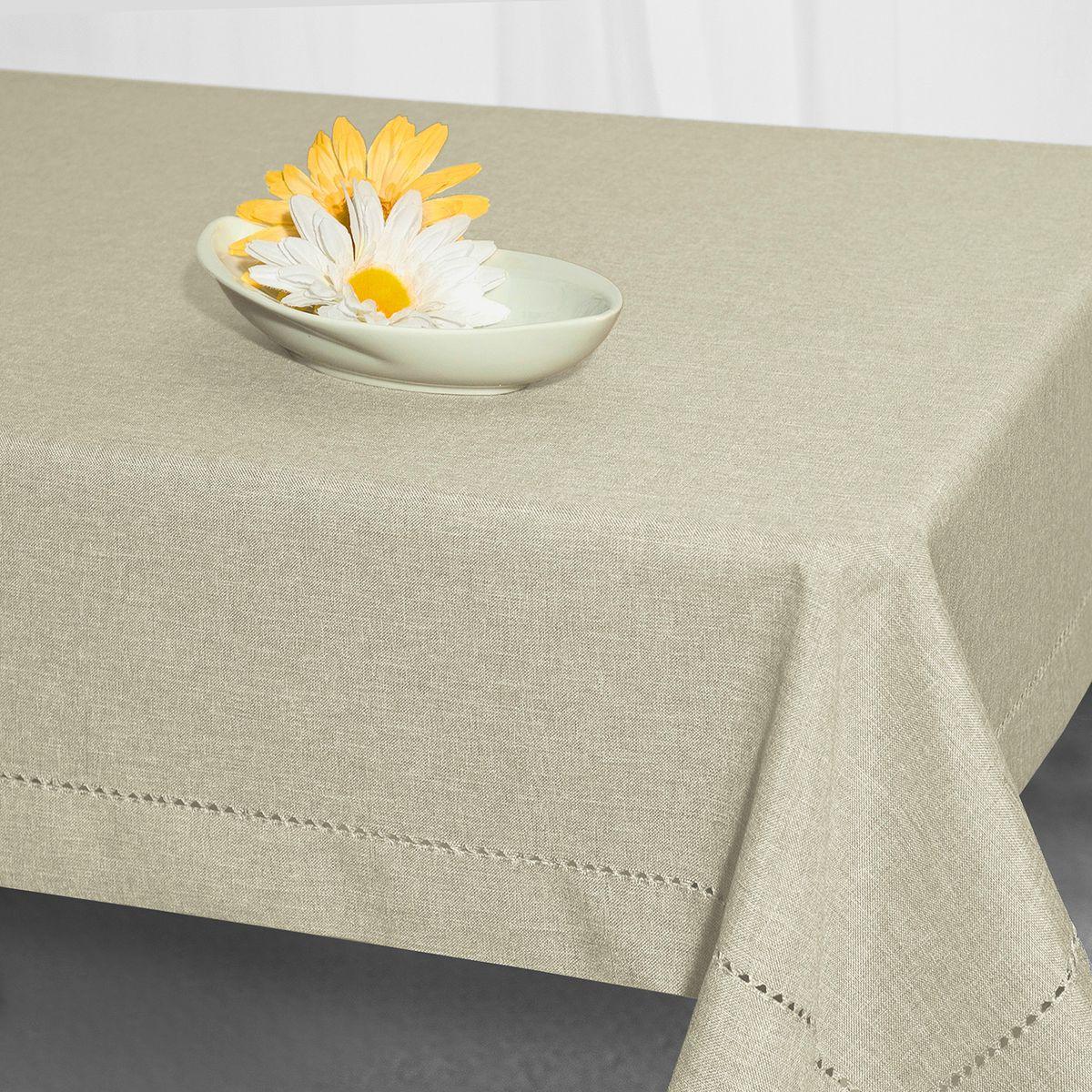 Скатерть Schaefer, прямоугольная, цвет: серый, 135 x 225 см. 07600-449CLP446Стильная скатерть Schaefer выполнена из полиэстера.Изделия из полиэстера легко стирать: они не мнутся, не садятся и быстро сохнут, они более долговечны, чем изделия из натуральных волокон.Немецкая компания Schaefer создана в 1921 году. На протяжении всего времени существования она создает уникальные коллекции домашнего текстиля для гостиных, спален, кухонь и ванных комнат. Дизайнерские идеи немецких художников компании Schaefer воплощаются в текстильных изделиях, которые сделают ваш дом красивее и уютнее и не останутся незамеченными вашими гостями. Дарите себе и близким красоту каждый день!