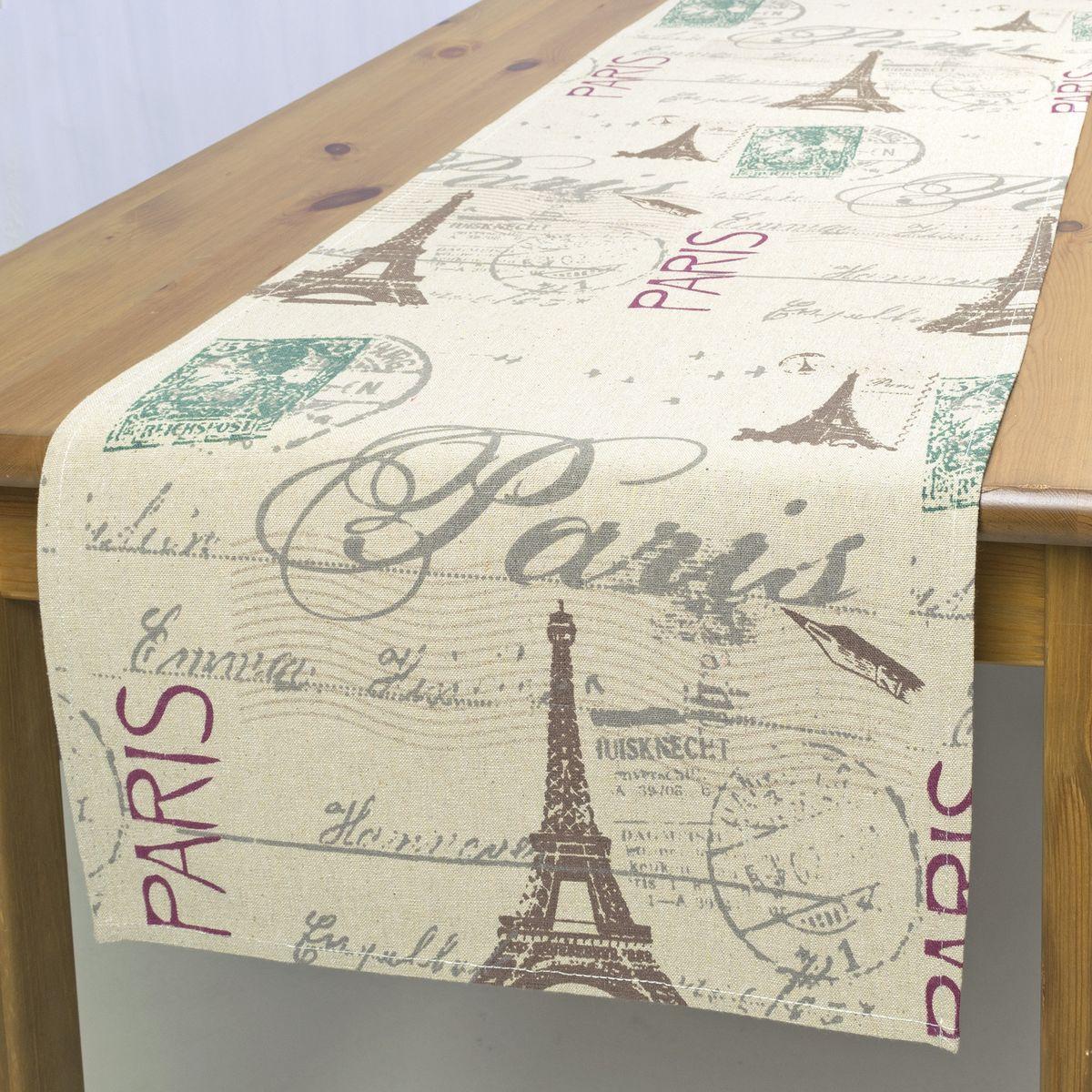 Дорожка для декорирования стола Schaefer , 40 х 140 см, цвет: бежевый. 07612-211S03301004Дорожка для декорирования стола Schaefer может быть использована, как основной элемент, так и дополнение для создания уюта и романтического настроения.Дорожка выполнена из полиэстера. Изделие легко стирать: оно не мнется, не садится и быстро сохнет, более долговечно, чем изделие из натуральных волокон.Материал: 100% полиэстер.Размер: 40 х 140 см.