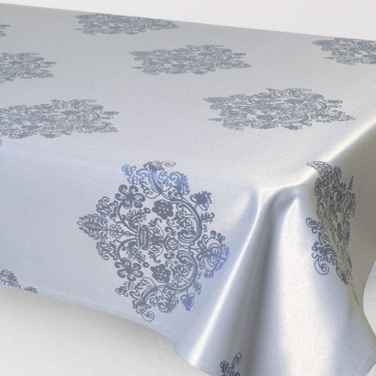 Скатерть Schaefer, прямоугольная, цвет: серый, 130 х 160 см. 07811-4275217Стильная скатерть Schaefer выполнена из полиэстера.Изделия из полиэстера легко стирать: они не мнутся, не садятся и быстро сохнут, они более долговечны, чем изделия из натуральных волокон.Немецкая компания Schaefer создана в 1921 году. На протяжении всего времени существования она создает уникальные коллекции домашнего текстиля для гостиных, спален, кухонь и ванных комнат. Дизайнерские идеи немецких художников компании Schaefer воплощаются в текстильных изделиях, которые сделают ваш дом красивее и уютнее и не останутся незамеченными вашими гостями. Дарите себе и близким красоту каждый день!