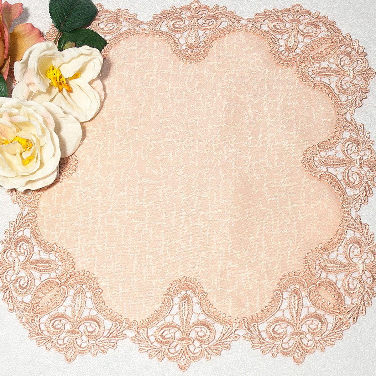 Салфетка Schaefer, цвет: розовый, 38 х 38 смVT-1520(SR)Яркая и красивая салфетка Schaefer выполнена из полиэстера. Изделие легко стирать и гладить, оно не требует специального ухода. Вы можете использовать салфетку для декорирования стола, комода, журнального столика. Она добавит в ваш дом стиля, изысканности и убережет мебель от царапин и потертостей.