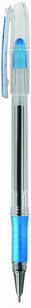Berlingo Ручка шариковая I-10 синяя1108103Стильная шариковая ручка Berlingo I-10 с пластиковым клипом. Цвет колпачка соответствует цвету чернил. Мягкий резиновый грип сделан в зоне захвата для удобного использования. Качественные чернила обеспечивают четное и ровное письмо. Прозрачный корпус позволяет контролировать расход чернил. Диаметр пишущего узла 0,4 мм.