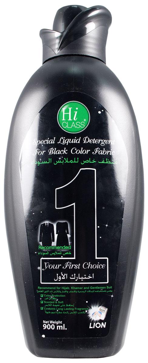 Гель для стирки LionThailand Hi-Class, концентрат, для черных вещей, 900 млK100Новейшая японская технология обеспечивает несколько главных преимуществ по сравнению с обычными средствами: концентрацию 1 к 6, эффективность в борьбе даже с застарелыми пятнами, защиту от бактерий и потери цвета, а также безопасность для окружающей среды и кожи рук.. Гель гарантирует Вам безупречное качество стирки.. Придаст вещам приятный аромат, свежесть и мягкость, которая сохранится надолго. Идеален для стирки темных вещей. .Подходит для всех типов тканей, ручной и машинной стирки..Способ применения: для ручной стирки смешать ? колпачка (20 мл) с 4 литрами воды. Замачивать белье в течение 5 минут. .Бережно простирать и прополоскать водой. .Для машинной стирки: использовать ? колпачка (20 мл) на 4 литра воды. .Способ хранения: хранить в недоступном для детей сухом месте. .Меры предосторожности: не наносить средство прямо на одежду. .При попадании средства в глаза промыть их водой. .При необходимости обратиться к врачу. Состав: вода, сульфат натрия лаурил эфир (14.0%), лаурилсульфат натрия (6.0%).