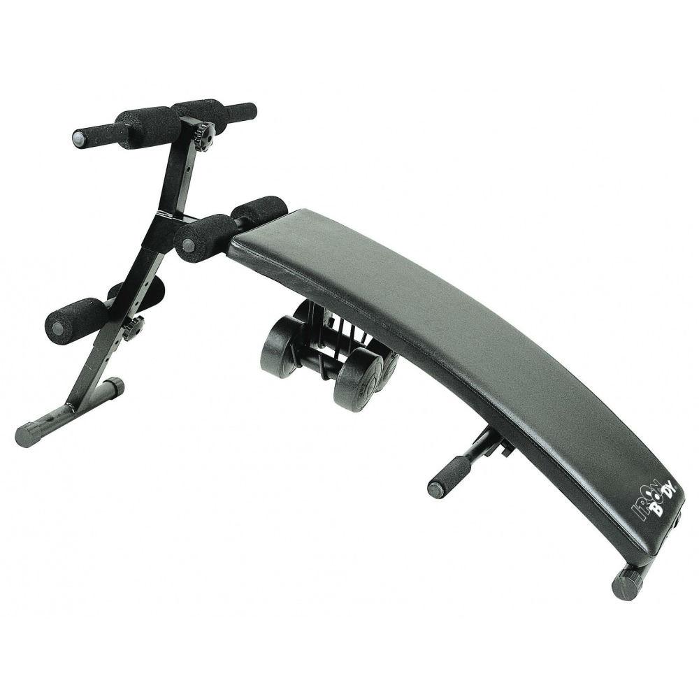 Силовая скамья Iron Body  8222SB3  , с гантелями - Скамейки и стойки