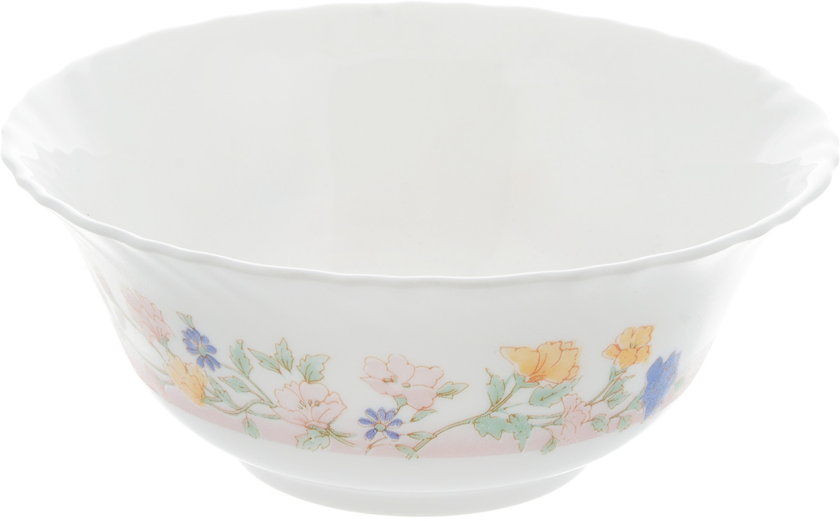 Салатник Luminarc Elise, диаметр 12 см68/5/3Салатник Luminarc Elise, изготовленный из высококачественного стекла, прекрасно впишется в интерьер вашей кухни и станет достойным дополнением к кухонному инвентарю. Салатник оформлен нежным рисунком. Такой салатник не только украсит ваш кухонный стол и подчеркнет прекрасный вкус хозяйки, но и станет отличным подарком. Можно мыть в посудомоечной машине и использовать в микроволновой печи. Диаметр салатника (по верхнему краю): 12 см. Высота стенки: 5 см.