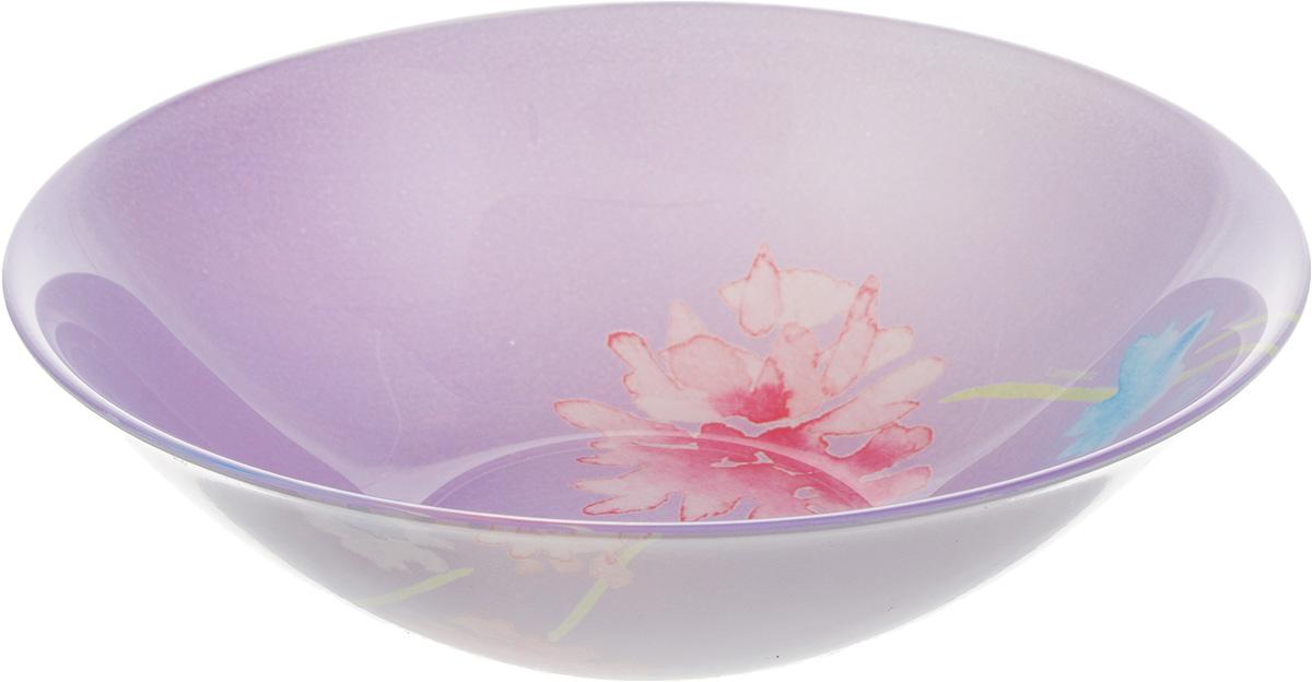 Салатник Luminarc Angel Purple, диаметр 16,5 смJ2108Салатник Luminarc Angel Purple выполнен извысококачественного стекла. Он станет достойным дополнением к вашему кухонному инвентарю и прекрасно подчеркнет прекрасный вкус хозяйки .Можно мыть в посудомоечной машине и использовать в СВЧ-печи.Диаметр салатника (по верхнему краю): 16,5 см.Высота стенки салатника: 4,5 см.