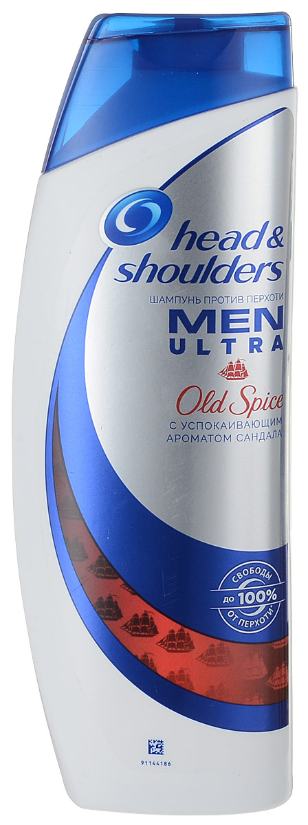 Head & Shoulders Шампунь против перхоти Old Spice, 400 мл