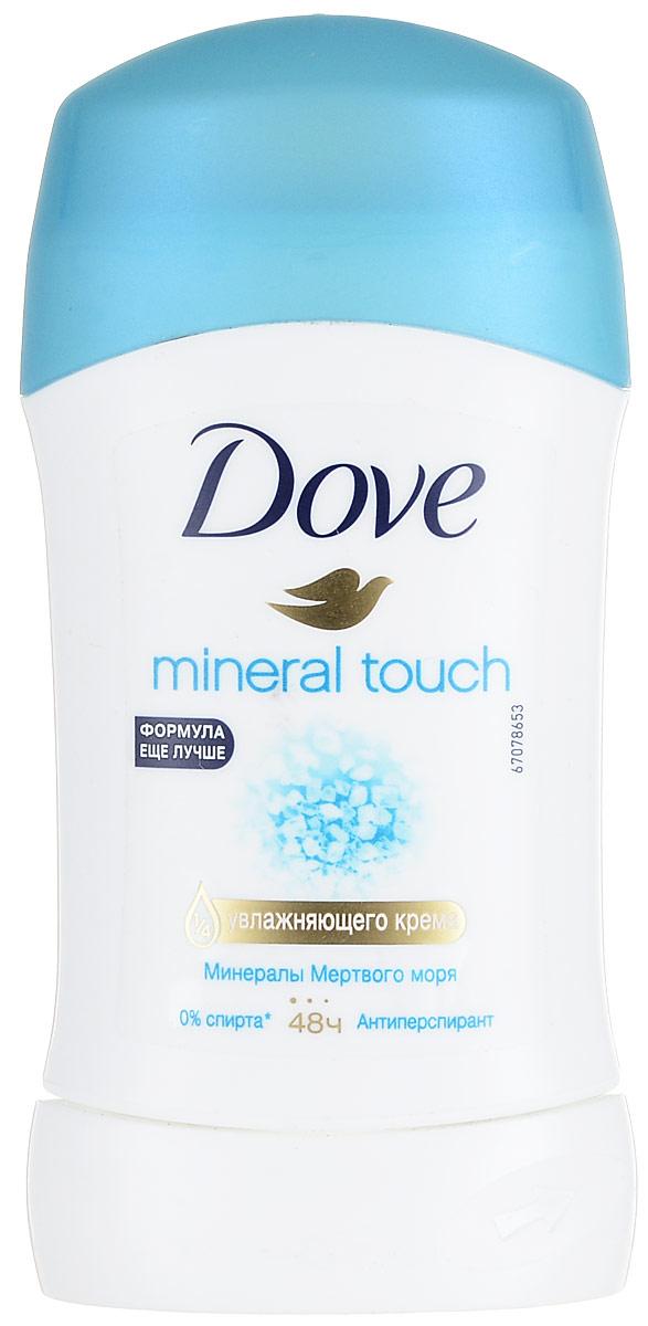 Dove Антиперспирант карандаш Прикосновение природы 40 млFS-00897Антиперсипрант Dove Прикосновение природы - обеспечивает защиту от пота на 48 часов и на 1/4 состоит из особенного увлажняющего крема, который способствует восстановлению кожи после бритья, делая ее более гладкой и нежной- Содержит минералы мертвого моря, известные своими природными свойствами увлажнять кожу