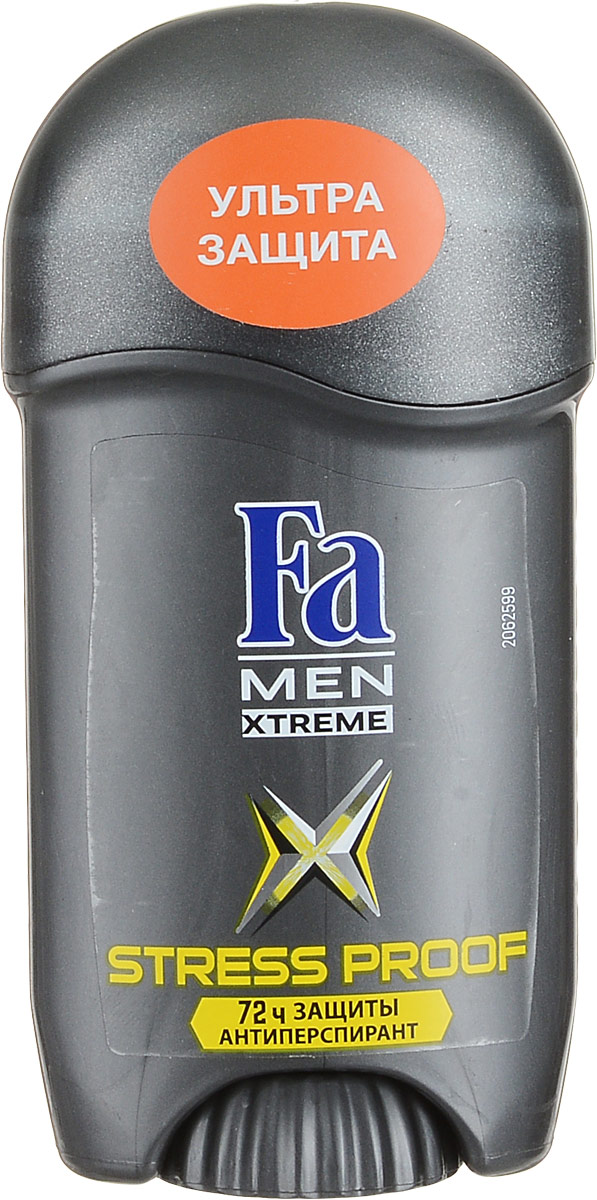 Fa Men Дезодорант-стик Xtreme Activated Stress Proof, мужской, 50 мл fa део стик men xtreme dry 50 мл