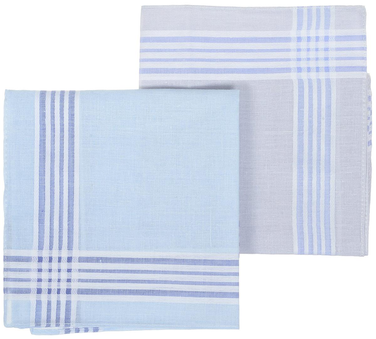 Платок носовой женский Zlata Korunka, цвет: синий, голубой, 4 шт. 71417. Размер 28 х 27 смАжурная брошьЖенский носовой платок Zlata Korunka изготовлен из натурального хлопка, приятный в использовании, хорошо стирается, материал не садится и отлично впитывает влагу.