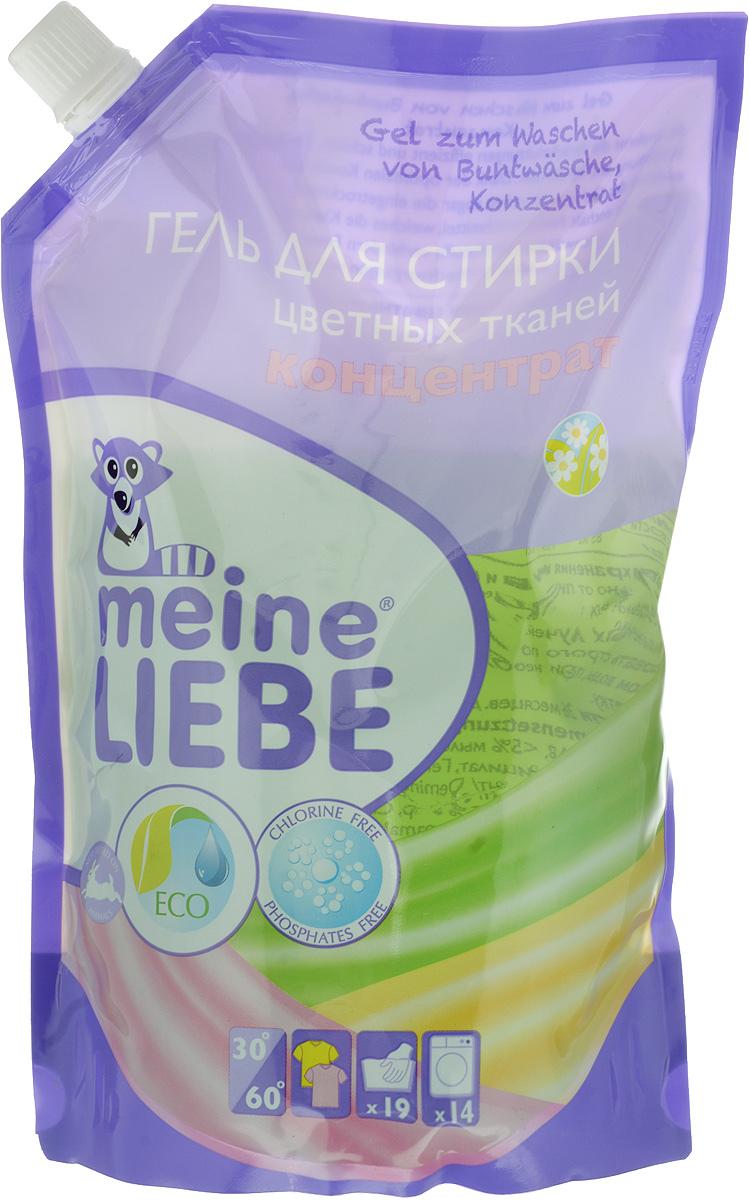 Гель для стирки Meine Liebe, концентрат, для цветного белья, 750 млCLP446Концентрированный гель Meine Liebe предназначен для стирки цветного белья. Средство эффективно удаляет загрязнения, предохраняя одежду от выцветания и защищает структуру ткани, предотвращает потеря формы. После стирки полностью выполаскивается и оставляет тонкий аромат свежести луговых цветов. Подходит для машинной и ручной стирки. Рекомендуемая температура стирки 40°С. Состав: деминерализованная вода, 5-15% анионные ПАВ, Товар сертифицирован.