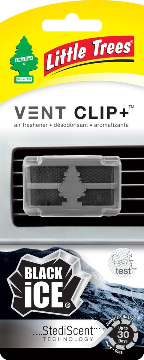 Ароматизатор для дефлектора Little Trees Черный лед. Клип +E-03Освежитель воздуха Little Trees уникален по эффективности действия, насыщенности и стойкости запаха. Подходит для использования в салоне автомобиля, а также в помещениях.