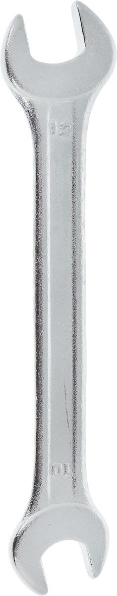 Ключ рожковый Helfer, 10 х 12 смCA-3505Рожковый ключ Helfer станет отличным помощником монтажнику или владельцу авто. Этот инструмент обеспечит надежную фиксацию на гранях крепежа. Специальная углеродистая сталь повышает прочность и износ инструмента.Длина ключа: 12,5 см.Размеры ключа: 10 мм; 12 мм.