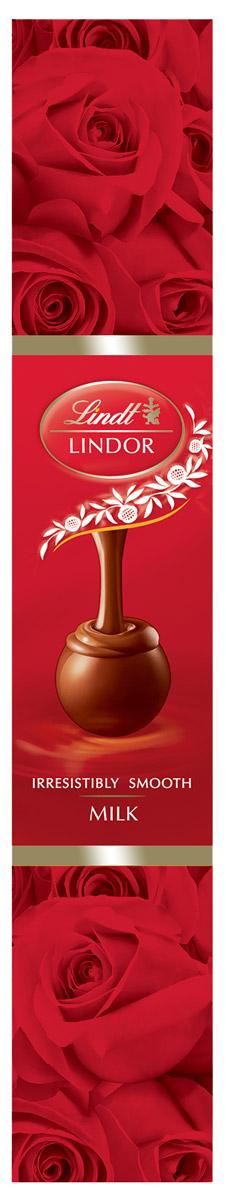 Lindt Линдор Конфеты из молочного шоколада Роза, 75 г5060295130016Конфеты из молочного шоколада с нежной, тающей начинкой.