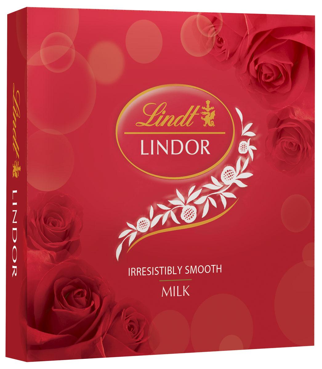 Lindt Линдор Конфеты из молочного шоколада, 125 г5060295130016Конфеты из молочного шоколада с нежной, тающей начинкой.