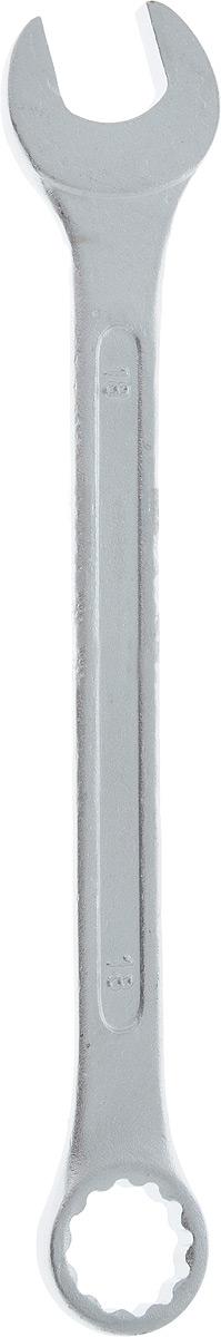 Ключ гаечный комбинированный Helfer, 18 ммCA-3505Комбинированный ключ Helfer предназначен для работы с резьбовыми соединениями. Разрезные головки ключей обеспечивают надежный обхват детали и большой крутящий момент. Размеры зева (отверстия) отвечают всем стандартам. Ключ выполнен из углеродистой стали, которая отличается повышенной прочностью.Такой инструмент станет отличным помощником монтажнику или владельцу авто. Длина ключа: 22 см.Диаметр головки: 18 мм.