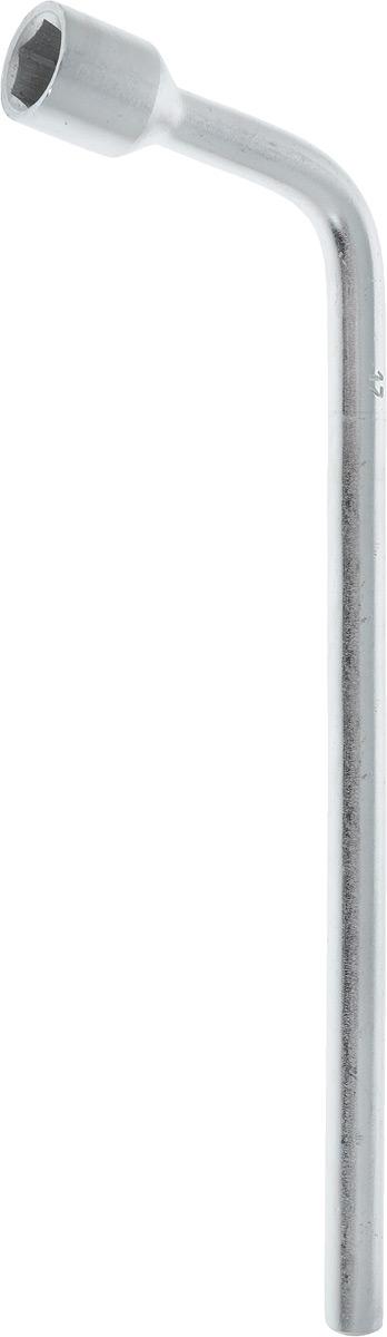 Ключ баллонный Helfer, Г-образный, 17 мм х 30 см98295719Ключ балонный Г-образный выполнен из инструментальной стали, обеспечивает долгосрочное использование изделия. Ключ оснащен усиленной конструкцией.Торцевая головка: 17 мм. Длина ключа: 30 см.