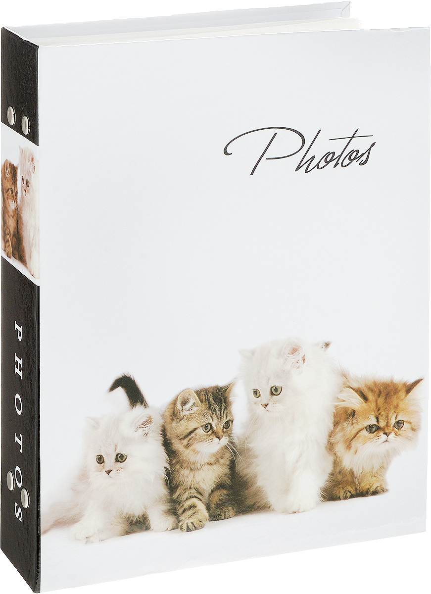 Фотоальбом Platinum Кошки - 2, 200 фотографий, 10 х 15 смRG-D31SФотоальбом Platinum Кошки - 2 поможет красиво оформить ваши фотографии. Обложка выполнена из толстого картона и декорирована рисунком с красочным изображением. Внутри содержится блок из 50 листов с фиксаторами-окошками из полипропилена. Альбом рассчитан на 200 фотографий формата 10 х 15 см (по 2 фотографии на странице). Переплет - книжный. Нам всегда так приятно вспоминать о самых счастливых моментах жизни, запечатленных на фотографиях. Поэтому фотоальбом является универсальным подарком к любому празднику.Количество листов: 50.
