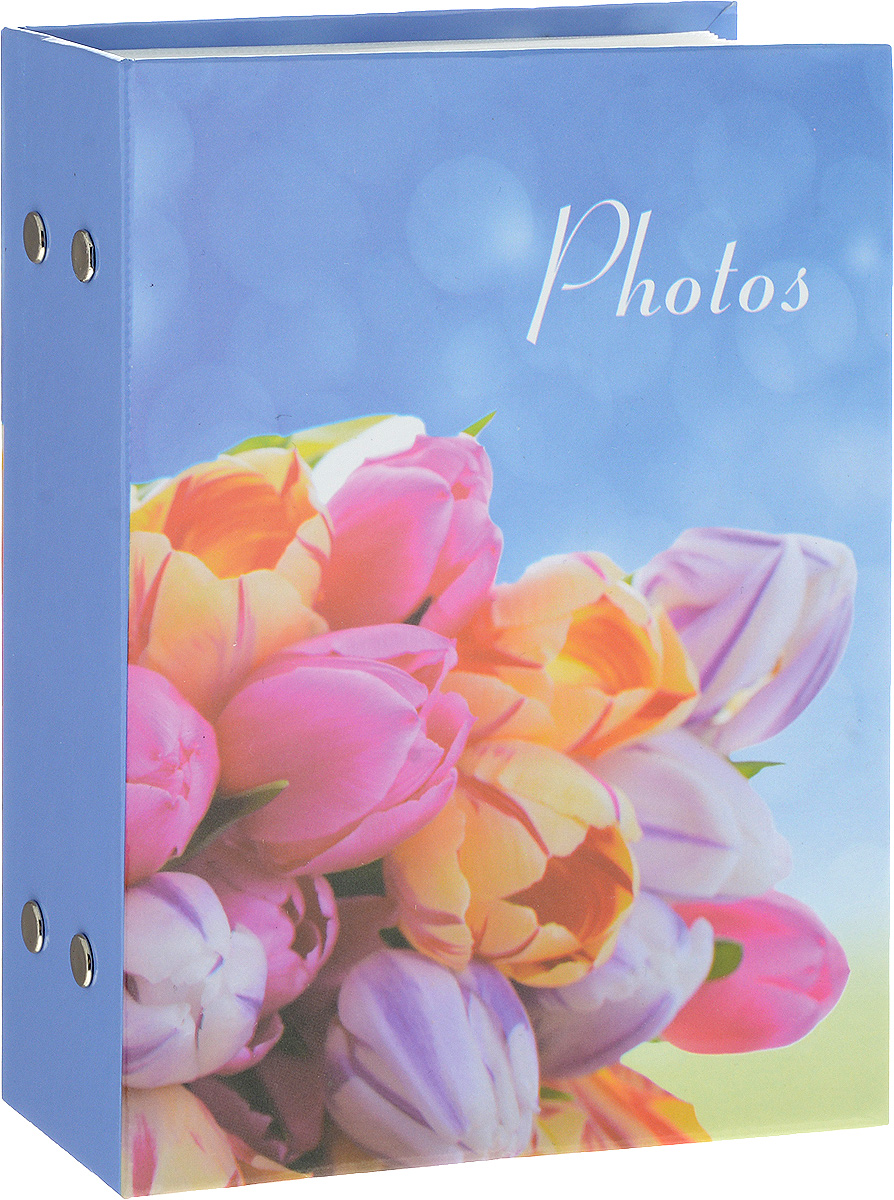 Фотоальбом Platinum Цветочная коллекция - 4, 100 фотографий, 10 х 15 см. PP46100SPLATINUM PF10255Фотоальбом Platinum Цветочная коллекция - 4 поможет красиво оформить ваши фотографии. Обложка выполнена из толстого картона и декорирована рисунком с ярким изображением. Внутри содержится блок из 50 листов с фиксаторами-окошками из полипропилена. Альбом рассчитан на 100 фотографий формата 10 х 15 см. Переплет - книжный. Нам всегда так приятно вспоминать о самых счастливых моментах жизни, запечатленных на фотографиях. Поэтому фотоальбом является универсальным подарком к любому празднику.Количество листов: 50.
