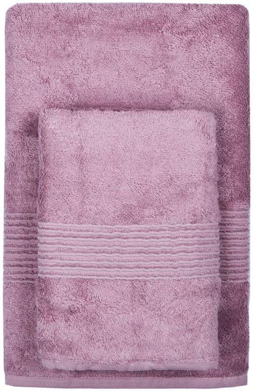 Полотенце махровое TAC Maison Bambu, цвет: сиреневый, 70 x 140 см68/5/2Полотенца ТАС приятно удивляют и дают возможность почувствовать себя творцом окружающего декора. Махровая ткань – официальное название фроте, народное – махра. Фроте – это натуральная ткань, поверхность которой состоит из ворса (петель основных нитей). Ворс может быть как одинарным (односторонним), так и двойным (двусторонним).Размер полотенца: 70 x 140 см.