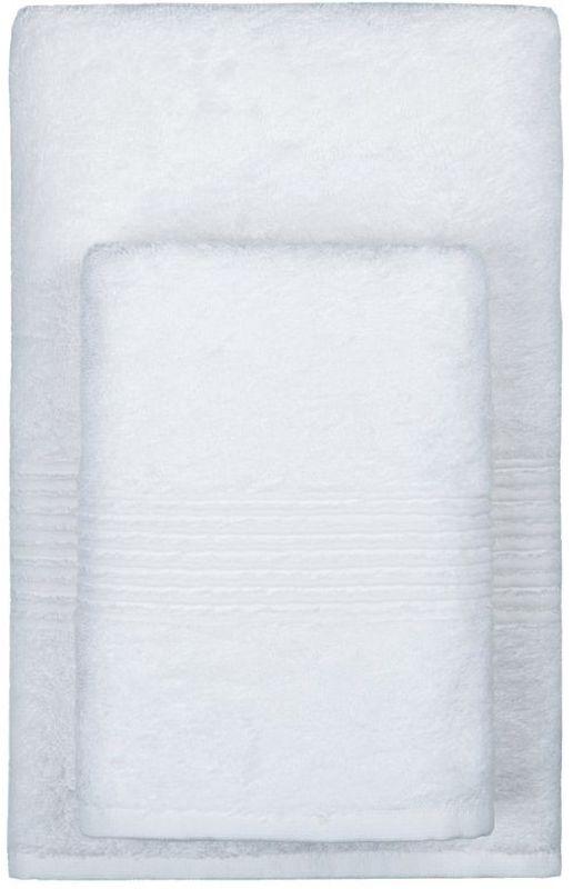 Полотенце махровое TAC Maison Bambu, цвет: белый, 70 x 140 см531-105Полотенца ТАС приятно удивляют и дают возможность почувствовать себя творцом окружающего декора. Махровая ткань – официальное название фроте, народное – махра. Фроте – это натуральная ткань, поверхность которой состоит из ворса (петель основных нитей). Ворс может быть как одинарным (односторонним), так и двойным (двусторонним).Размер полотенца: 70 x 140 см.