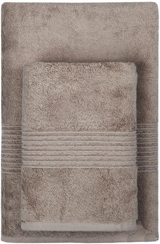Полотенце махровое TAC Maison Bambu, цвет: коричневый, 50 x 90 см85507Полотенца ТАС приятно удивляют и дают возможность почувствовать себя творцом окружающего декора. Махровая ткань – официальное название фроте, народное – махра. Фроте – это натуральная ткань, поверхность которой состоит из ворса (петель основных нитей). Ворс может быть как одинарным (односторонним), так и двойным (двусторонним).Размер полотенца: 50 x 90 см.