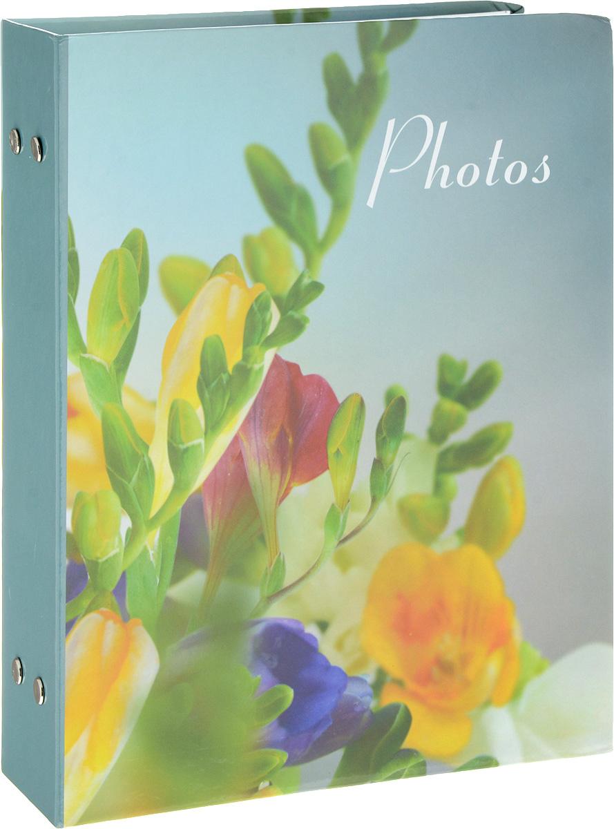 Фотоальбом Platinum Цветочная коллекция - 4, 200 фотографий, 10 х 15 см46197 B46200Фотоальбом Platinum Цветочная коллекция - 4 поможет красиво оформить ваши фотографии. Обложка выполнена из толстого картона и декорирована рисунком с красочным изображением. Внутри содержится блок из 50 листов с фиксаторами-окошками из полипропилена. Альбом рассчитан на 200 фотографий формата 10 х 15 см (по 2 фотографии на странице). Переплет - книжный. Нам всегда так приятно вспоминать о самых счастливых моментах жизни, запечатленных на фотографиях. Поэтому фотоальбом является универсальным подарком к любому празднику.Количество листов: 50.