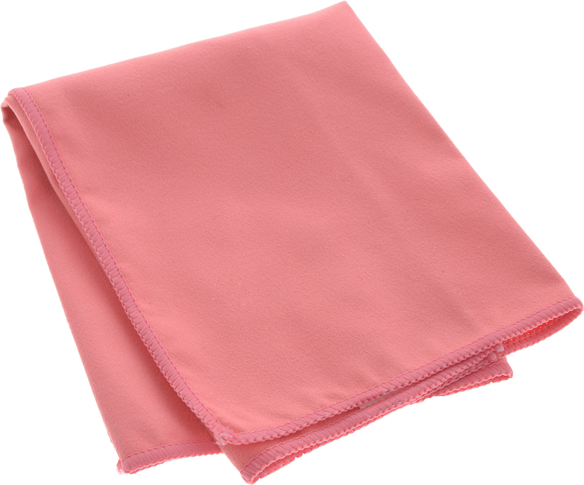 Cалфетка Sapfire Suede, цвет: розовый, 35 х 40 см97526Благодаря своей нежной структуре, салфетка Sapfire Suede из искусственной замши идеально подходит для протирки стекол, зеркал и других деликатных поверхностей в машине и дома.Великолепно удаляет пыль и грязь с любой поверхности. Клиновидные микроскопические волокна захватывают и легко удерживают частички пыли, жировой и никотиновой налет, микроорганизмы, в том числе болезнетворные и вызывающие аллергию. Протертая поверхность становится идеально чистой, сухой, блестящей, без разводов и ворсинок.Состав: 80% полиэстер, 20% полиамид.