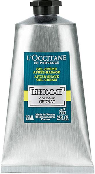 LOccitane Бальзам после бритья Акватический Цедрат 75 млWS 7064Свежий, бодрящий гель-крем мгновенно впитывается в кожу, не оставляя жирных следов. Эта многофункциональная формула увлажняет, тонизирует и смягчает кожу, бережно устраняя раздражения и очищая поры. Продукты со свежей и легкой текстурой обладают множеством ценных свойств: они увлажняют, матируют и заряжают кожу энергией. LOccitane открывает для нас бодрящие свойства экстракта цитрона, стимулирующего обновление клеток кожи и восстанавливающего эпидермис. Экстракт цитрона лег в основу новой линии ухода за кожей для мужчин Цедрат.